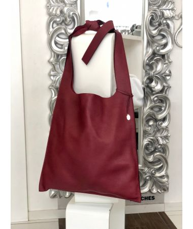 Torba Daria Bordo / Shoulder Bag Daria Dark Red