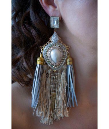 Uhani The Diamond Maya / The Diamond Maya Earrings