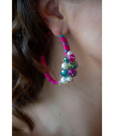 Uhani Multicolor Hoops / Multicolor Hoops