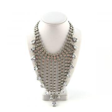 Svečana ogrlica iz kristalov Love