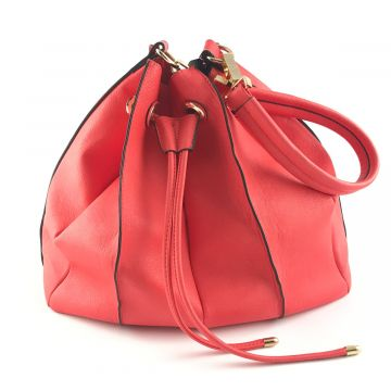 Rdeča torba v torbi Luna