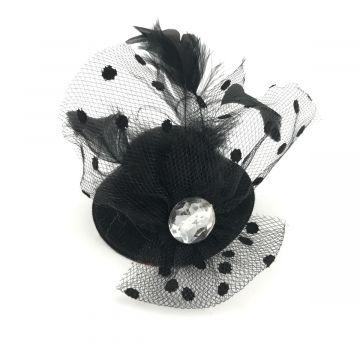 Mini klobuček za v lase
