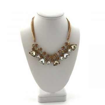 Ogrlica iz kristalčkov Monica