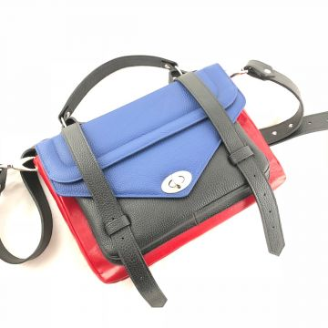 Ročno izdelana usnjena torbica Iva