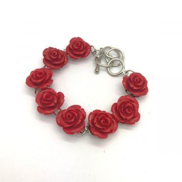 Zapestnica rdeče vrtnice