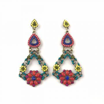 Uhani Vintage Multicolor
