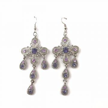 Uhani Vintage Violet
