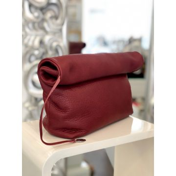 Torba Paula Bordo / Clutch Paula Burgundy
