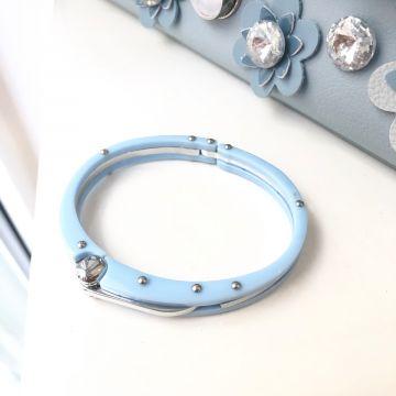 Zapestnica Svetlo modre barve Tilda