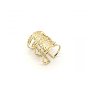 Prstan zlate barve