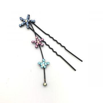 Dekorativna lasnica s kristalčki zvezdice