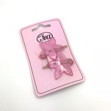Sponke rožice v roza barvi