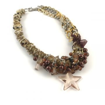 Unikatna ogrlica Star