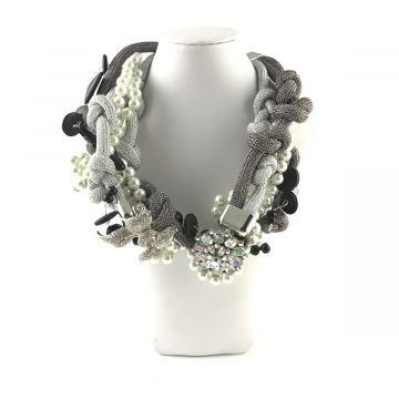 Unikatna ogrlica Silver