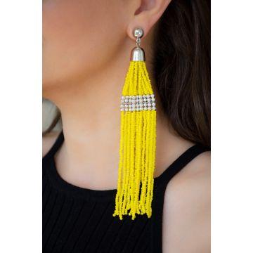 Uhani Plastic Pearls Sunny / Plastic Pearls Sunny Earrings
