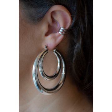 Uhani Monroe Hoops / The Monroe Hoops