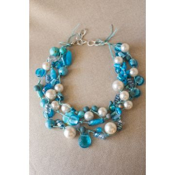 Ogrlica Blue Ocean / Blue Ocean Necklace