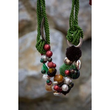 Ogrlica Pompom / Pompom Necklace