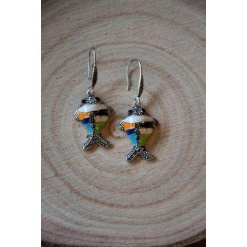 Uhani The Fish / The Fish Earrings
