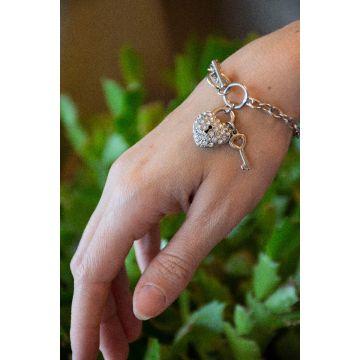 Zapestnica Crystal Heart Soleil / Crystal Heart Soleil Bracelets
