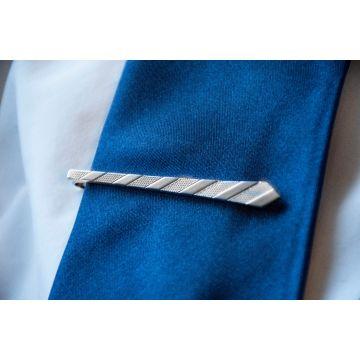 Moška sponka za kravato Silver Tie / Silver Tie Clip
