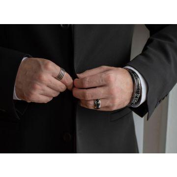 Moška zapestnica Enamel / Enamel Man Bracelet