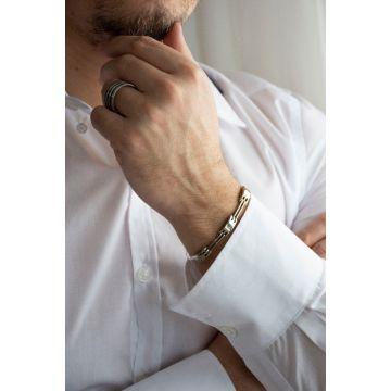 Moška zapestnica Stainless steel Enamel / Enamel Stainless Steel Men Bracelet