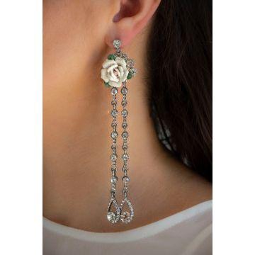 Uhani Iris / The Iris Earrings