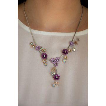 Ogrlica Mini Diamond Gal / The Mini Diamond Gal Necklace