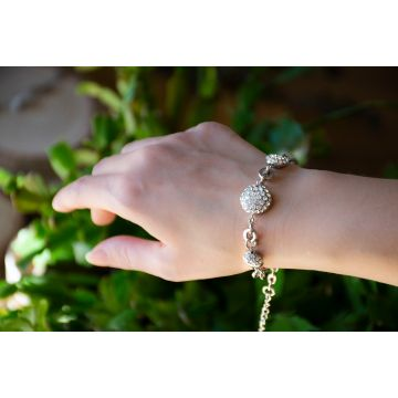 Zapestnica Diamond Ocean / The Diamond Ocean Bracelet