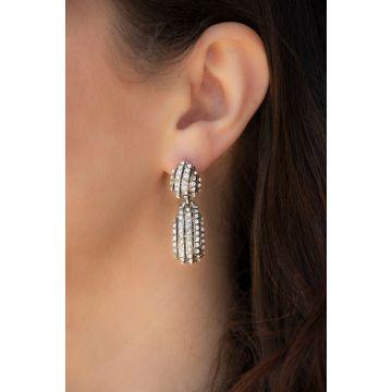 Uhani Signature Crystal / Signature Crystal Earrings