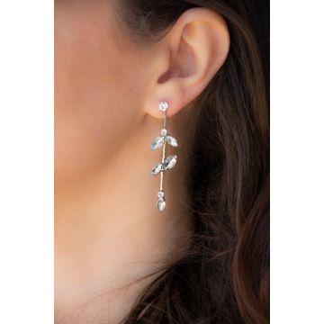 Uhani Diamond Baguette Bal / Diamond Baguette Bal Earrings