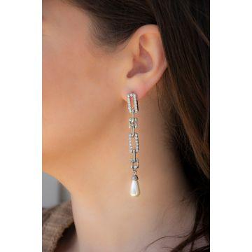 Uhani Double Shell / The Double Shell Earrings